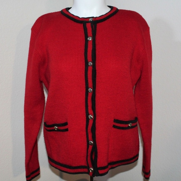 Karen Scott Sweaters - Karen Scott Cardigan